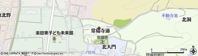 愛知県犬山市常福寺浦周辺の地図