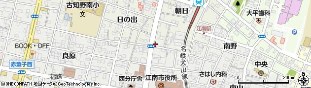 ことぶき周辺の地図