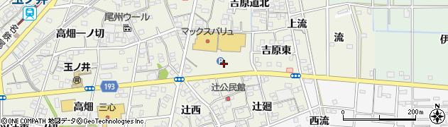 愛知県一宮市木曽川町玉ノ井(吉原西)周辺の地図