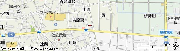 愛知県一宮市木曽川町玉ノ井(下流)周辺の地図