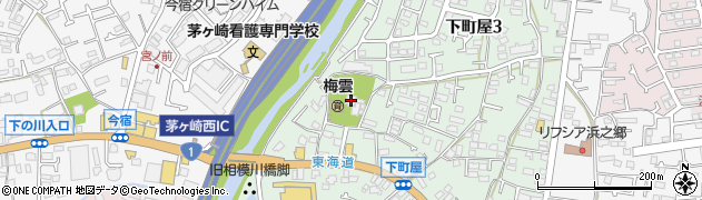 梅雲寺周辺の地図