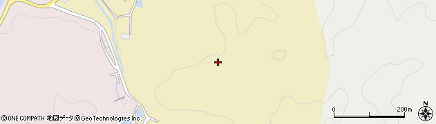 愛知県犬山市篠平周辺の地図