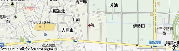 愛知県一宮市木曽川町玉ノ井(流)周辺の地図