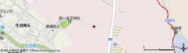 岐阜県多治見市東町周辺の地図