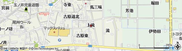 愛知県一宮市木曽川町玉ノ井(上流)周辺の地図