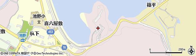 見晴茶屋周辺の地図