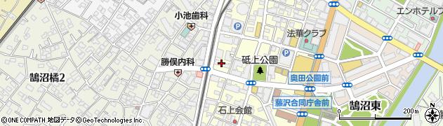 藤沢共同ビル周辺の地図