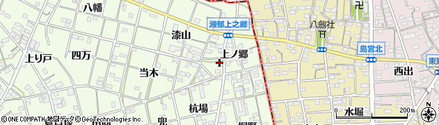 愛知県一宮市瀬部(上之郷)周辺の地図