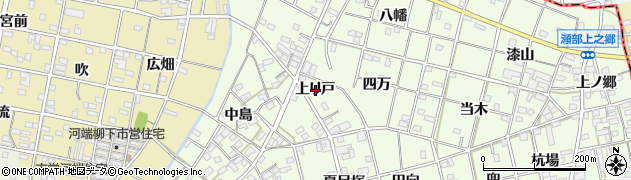 愛知県一宮市瀬部(上り戸)周辺の地図