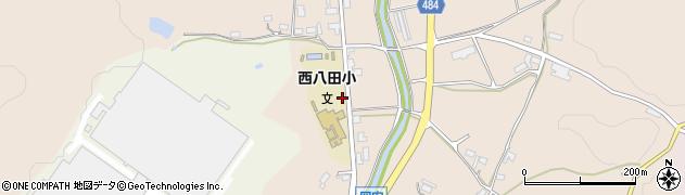 京都府綾部市岡安町(家ノ下)周辺の地図