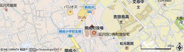 神奈川県足柄上郡開成町周辺の地図