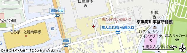 神奈川県平塚市堤町周辺の地図