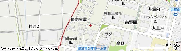 愛知県犬山市羽黒新田(椿東)周辺の地図