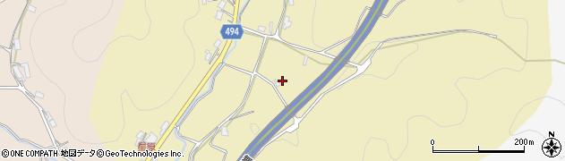 京都府綾部市小呂町(尾ケ谷)周辺の地図