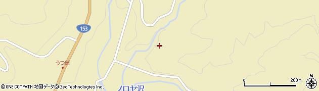 長野県平谷村(下伊那郡)靱周辺の地図