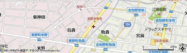 ら房周辺の地図