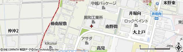 愛知県犬山市羽黒新田(辻ノ内)周辺の地図