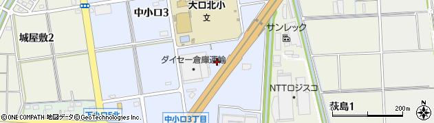 みやこ大口店周辺の地図
