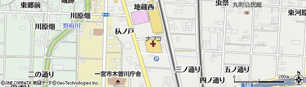 丸忠寿司 丸忠ナフコ木曽川店周辺の地図