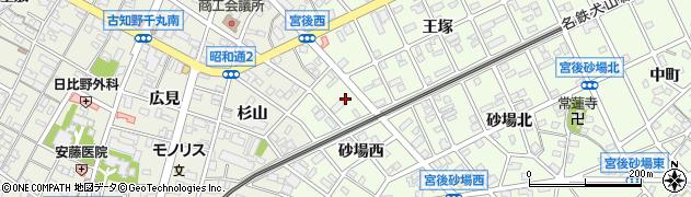 デパール周辺の地図