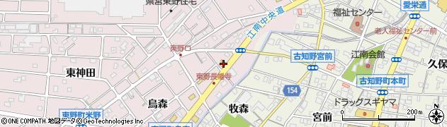 江南ホルモン周辺の地図