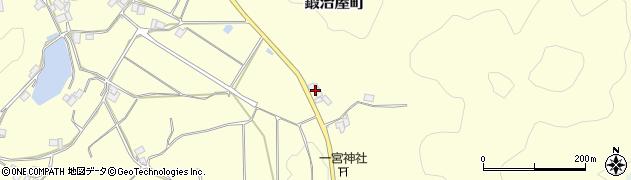 京都府綾部市鍛治屋町(岼ノ上)周辺の地図