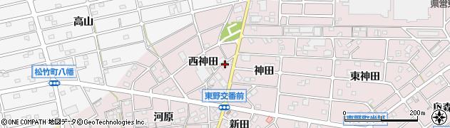 しな喜キッチンセンター周辺の地図
