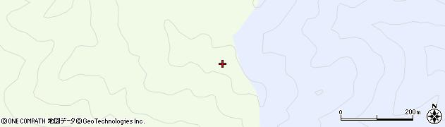 八尺山周辺の地図