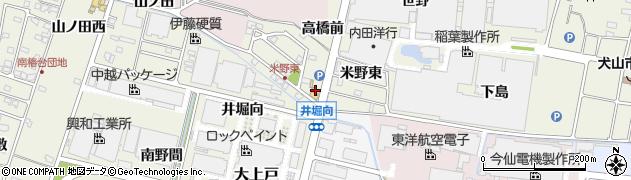 うなぎの大安周辺の地図