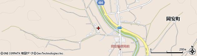 京都府綾部市中筋町(野ノ下)周辺の地図