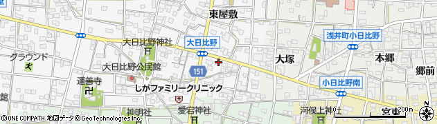 大連周辺の地図