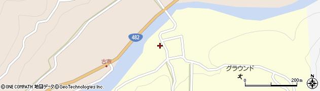 鳥取県鳥取市佐治町大井周辺の地図
