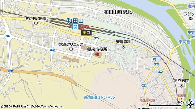 〒669-5258 兵庫県朝来市和田山町城南台の地図