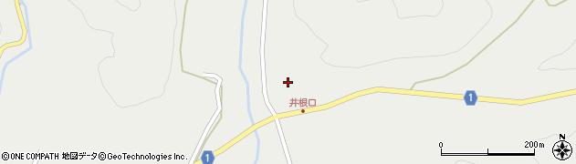 京都府綾部市井根町(清水尻)周辺の地図