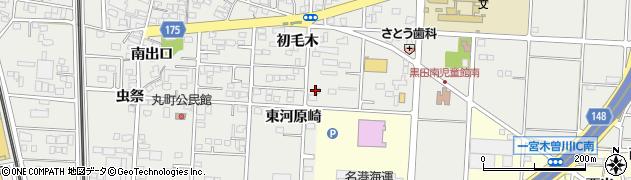 ドゥノン周辺の地図