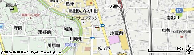 愛知県一宮市木曽川町黒田(一ノ通り)周辺の地図