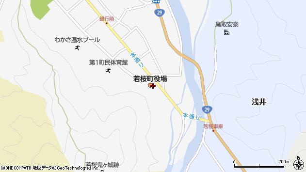 〒680-0700 鳥取県八頭郡若桜町(以下に掲載がない場合)の地図