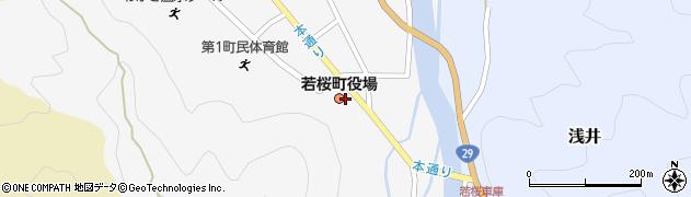 鳥取県若桜町(八頭郡)周辺の地図