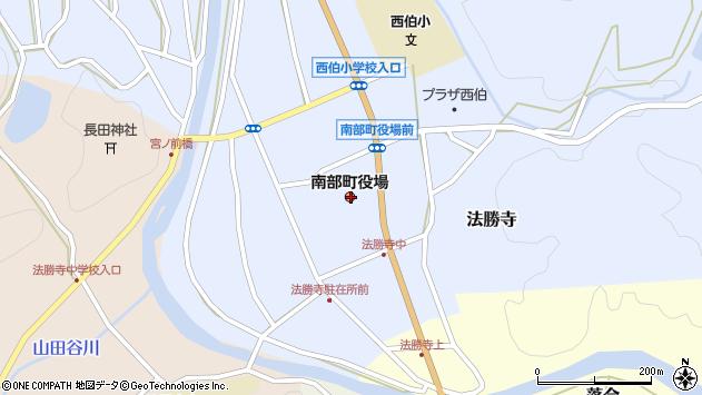 〒683-0300 鳥取県西伯郡南部町(以下に掲載がない場合)の地図