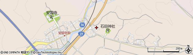 京都府綾部市安国寺町(宮ノ腰)周辺の地図