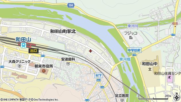 〒669-5204 兵庫県朝来市和田山町駅北の地図