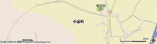 京都府綾部市小呂町周辺の地図