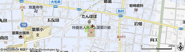 愛知県一宮市島村(六反田)周辺の地図