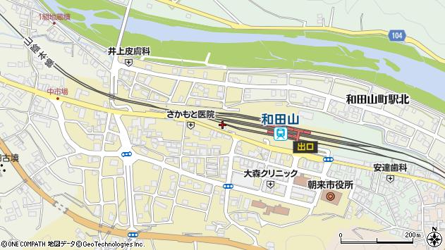 〒669-5202 兵庫県朝来市和田山町東谷の地図