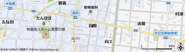 愛知県一宮市島村(岩畑)周辺の地図
