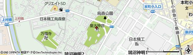皇大神宮周辺の地図