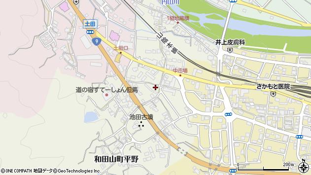 〒669-5211 兵庫県朝来市和田山町平野の地図