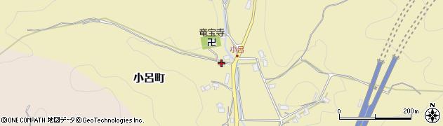 京都府綾部市小呂町(宮ケ迫)周辺の地図
