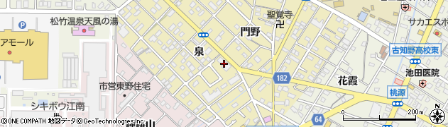 ろまん周辺の地図
