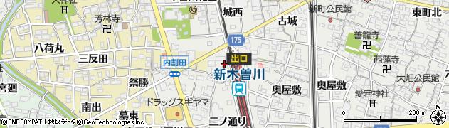 番屋周辺の地図